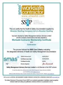 smas Worksafe Contractor Membership Certificate