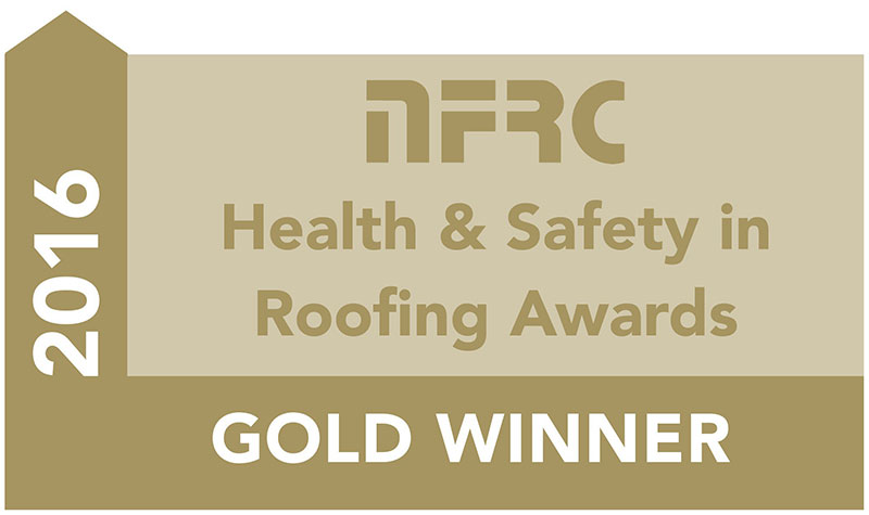 NFRC Health & safety in roofing - Gold Winner