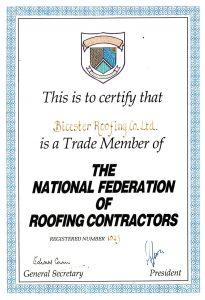NFRC certificate
