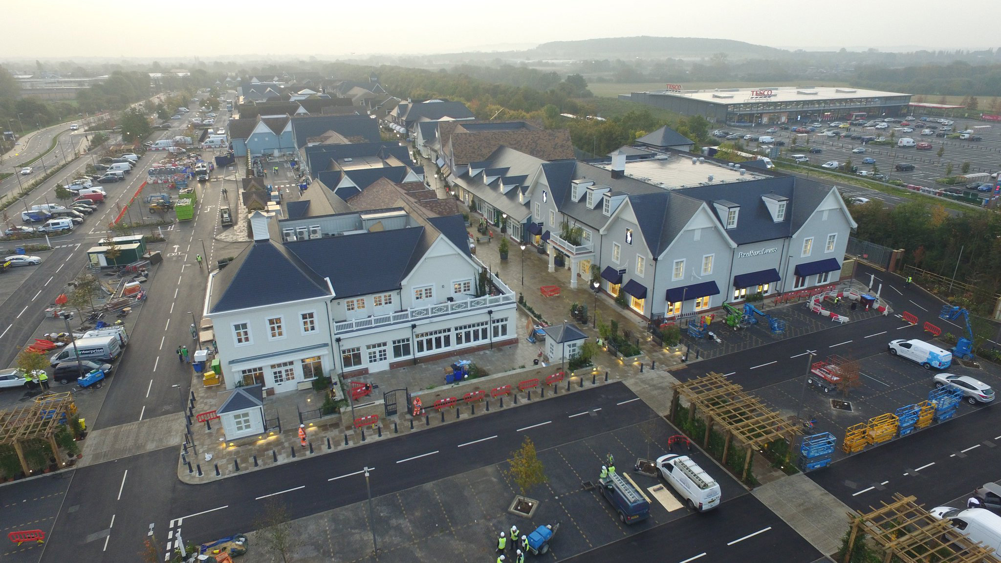 Bicester Village Completed Bicester Roofing